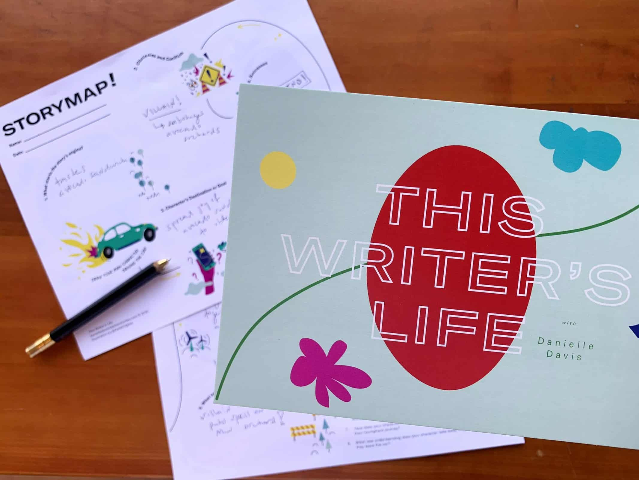 This Writer's Life is an educational video series for 8 to 12-year-olds and their classrooms—a resource library—that peeks into the writing process.
