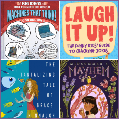 Below is the official KidLit TV summer reading list with our top choices for Picture Books, Middle Grade, and Young Adult books recommended for our readers.
