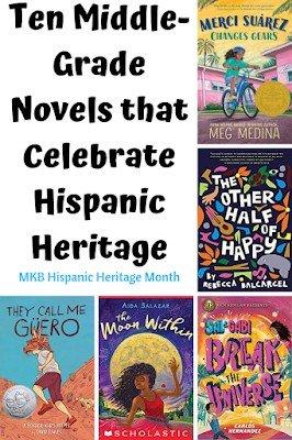 Hispanic Heritage Middle Grade Books
