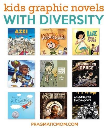 diverse graphic novels